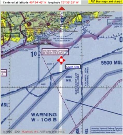 warning area aeronautical charts the flight 800 investigation