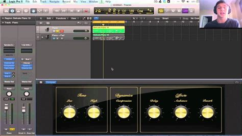 video tutorial logic pro x logic pro x tutorial smart controls youtube