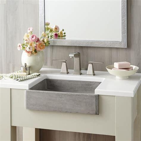 Kitchen Sink In Bathroom Interior Design Apron Front Bathroom Sink Freestanding