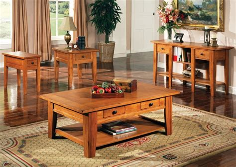 oak living room tables end tables designs stunning looked in natural yellow end