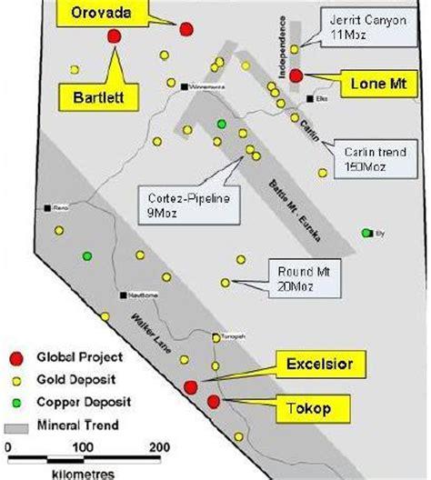 global geoscience, osisko mining ink deal for nevada gold