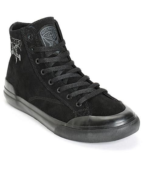 thrasher shoes huf x thrasher classic hi skate shoes zumiez