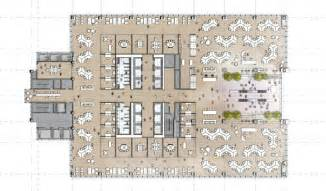 layout plans comcast innovation and technology center philadelphia s tower of tech power urban land magazine