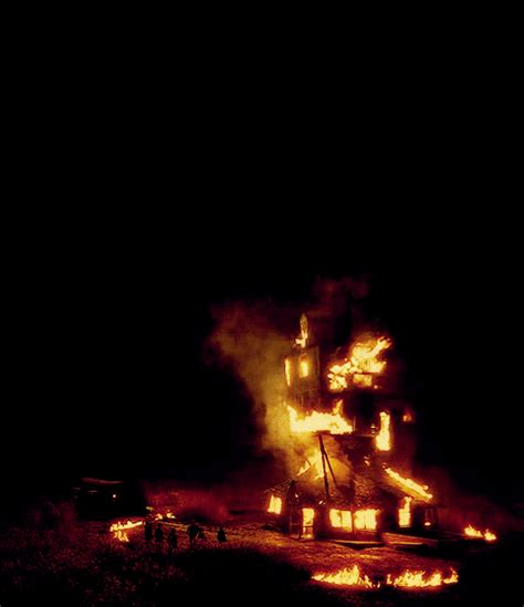 house on fire gif the burrow tumblr