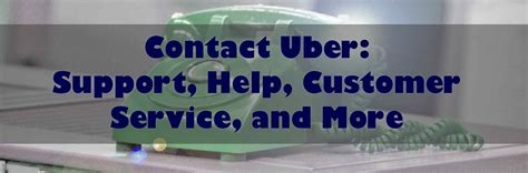 Contact Uber Support Help Customer Service And More