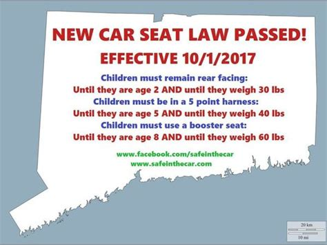 car seat safety laws new car seat laws part of back to school preparations
