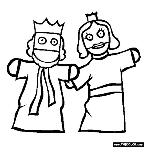Free Online Coloring Pages Thecolor Puppet Coloring Pages