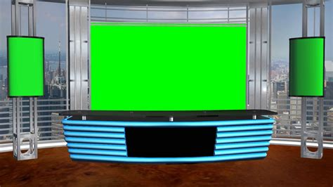 tv studio desk studio background d doovi