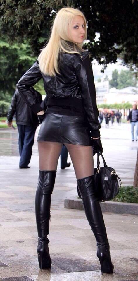 Always In Fashion Luxurious Leather Bglam by Leather Dress Has Always Been A Style Symbol For Many