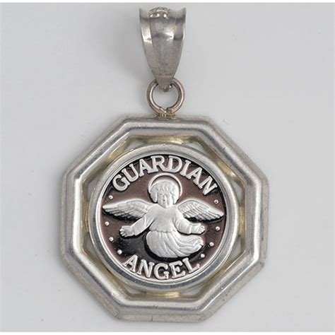 999 silver guardian coin 14mm in sterling