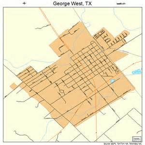 george west map george west map 4829348