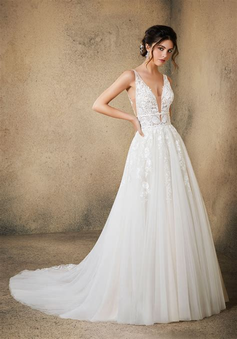 rosa wedding dress style 5763 morilee