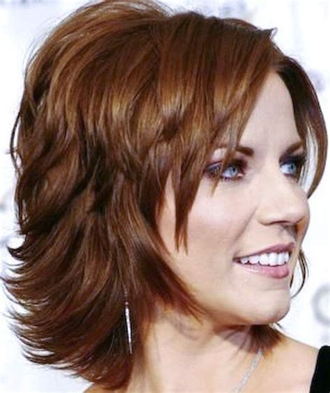 medium hairstyles with lots of layers short hairstyles for women short locks that rock