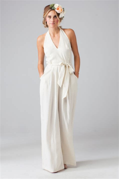 Hochzeit Jumpsuit by Wedding Dresses Forget The Dress Choose A Jumpsuit