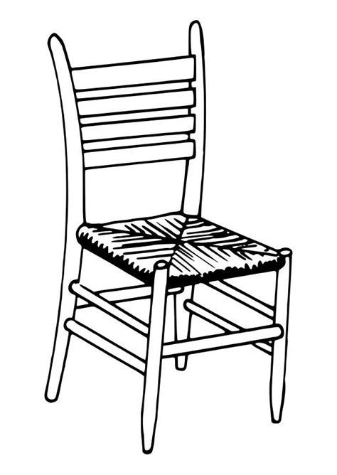 silla dibujo dibujo para colorear silla img 30112