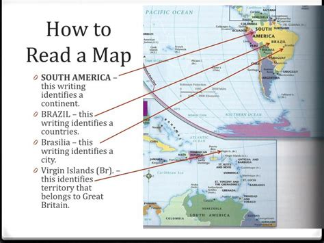 how to read a map ppt warm up what is the difference between a continent and a country powerpoint presentation