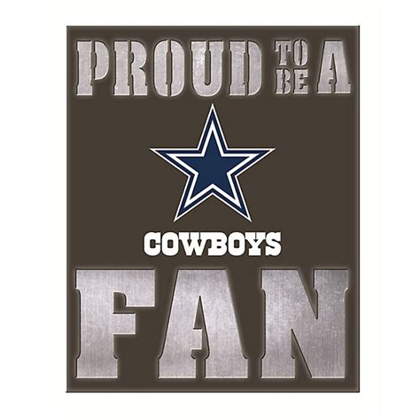 dallas cowboys back lit metal wall home decor home