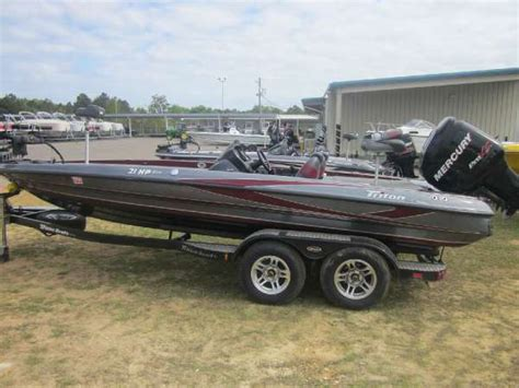 used triton boats for sale in alabama 2012 used triton boats 21hp bass boat for sale dothan