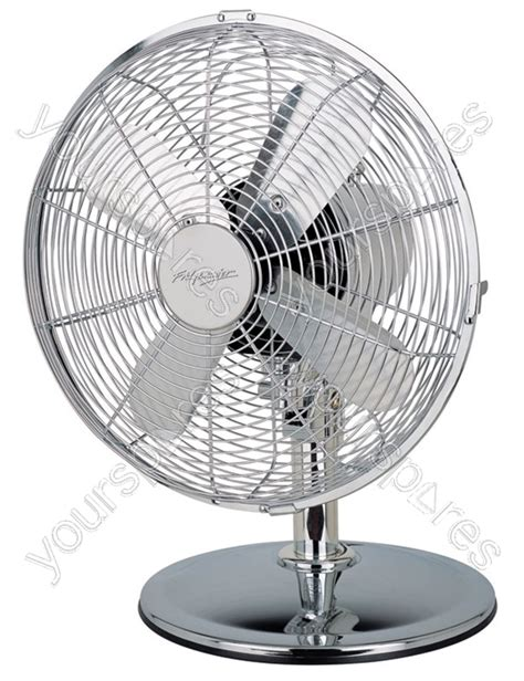 12 inch desk fan 12 inch chrome desk fan fm165 h by fridgemaster