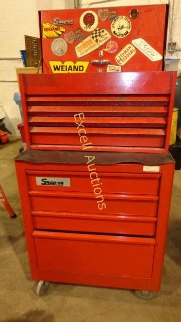 8 Drawer Snap On Tool Box by Snap On Tool Box 8 Drawers 1 Top Bin On