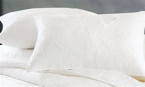 Solid White Quilt by White Solid Shell Quilt King Beddingsuperstore