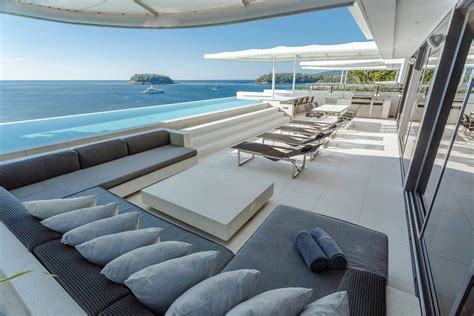 Modern Villas Pool Villa Phuket Kata Rocks Four Bedroom Sky Pool