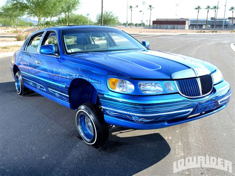 showtimes lincoln 1998 lincoln town car lowrider magazine