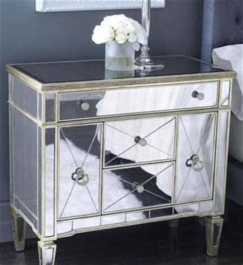 Horchow Home Decor Simply Stoked Mirrored Furniture