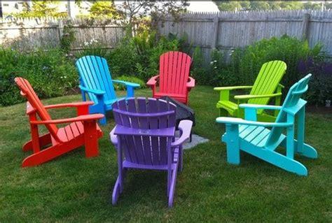 Colorful Adirondack Chairs colorful plastic adirondack chairs home furniture design