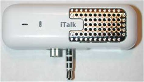 Review Griffin Italk Pro by Griffin Technology Italk Ipod Voice Recorder Review The