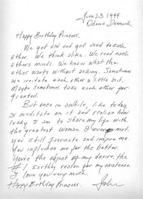 lettere d testo johnny buon compleanno principessa la lettera d
