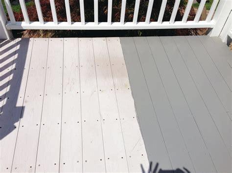 painting composite decking professional deck builder