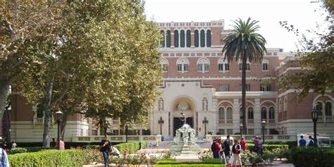Usc Business School Mba Ranking by Of Southern California Usc Viterbi