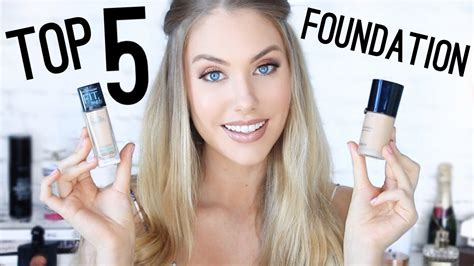 My Top 5 Foundations by My Top 5 Foundations Normal To Acne Prone Skin
