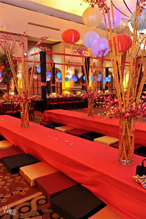 japanese themed decor bat mitzvah theme a japanese garden linzi events