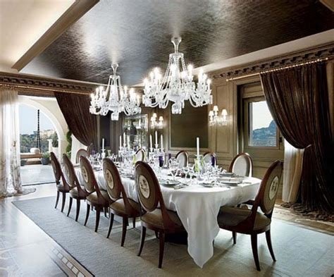 top 10 furniture designers in the world residential penthouse luxury dining room decor newhouseofart com