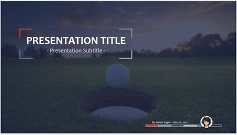 templates powerpoint golf free golf powerpoint 27965 sagefox powerpoint templates