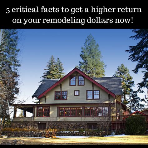 2016 remodeling cost to value study getting a return on