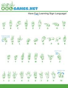 american sign language activities printable asl