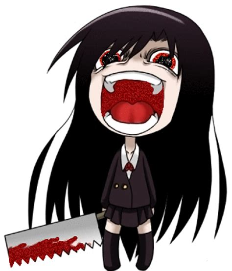 chibi girls horror an 1978046839 creepy anime art i like chibi creepy and anime