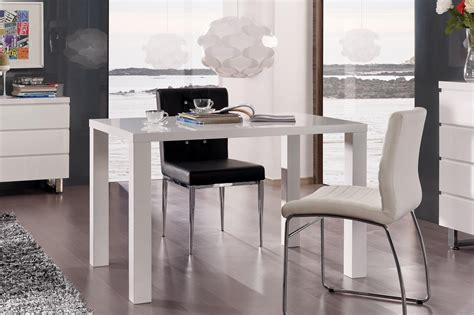 table cuisine table de cuisine design laqu 233 e blanche destiny table de