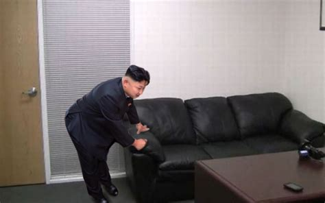 cating couch casting couch kim jong un bent over know your meme