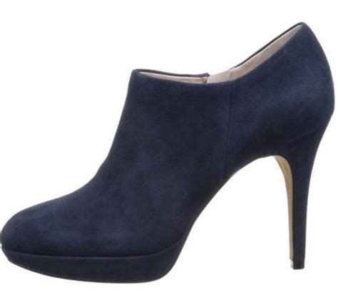 womens navy blue boots s shoes vince camuto elvin platform bootie boots