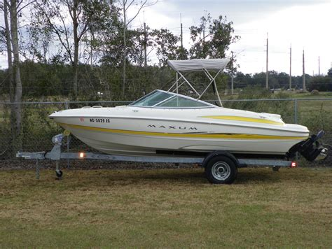 maxum boats models maxum 1900 sr boats for sale boats