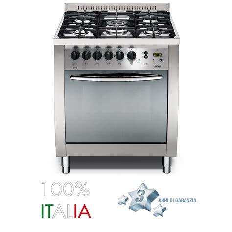 forno cucina lofra cucina curva 70 inox forno gas c76gvc lofra