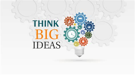 Think Big Ideas Prezi Template Prezibase Prezi Template Ideas