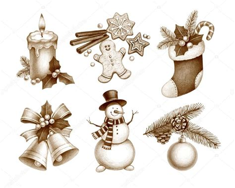 decorations drawings pencil drawings of decorations stock photo