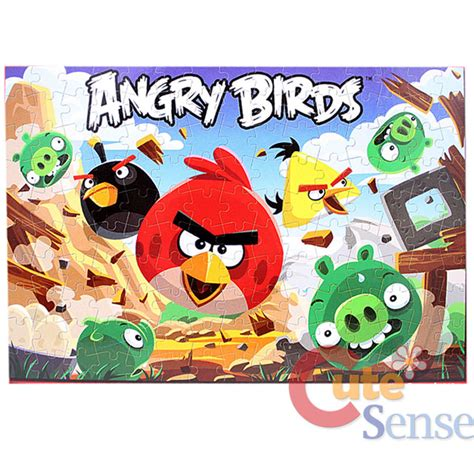 puzzle angry birds rovio angry birds 3d jigsaw puzzles 150pc licensed ebay