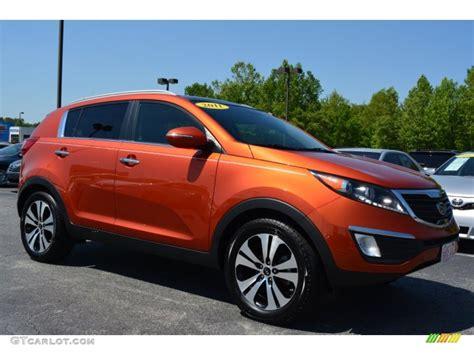Orange Kia Sportage 2011 Techno Orange Kia Sportage Ex 93289045 Gtcarlot