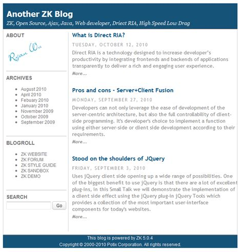 layout zk demo zk demo updated the zk blog
